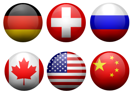 230 iso 3166 1 flags of the world button rounded style free icons
