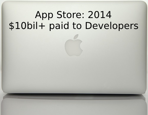 Apple paid $10bil to Developers